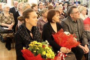 На открытии выставки заслуженного художника России Олега Бороздина в 2014 году