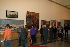Выставка «Искусство земли Вологодской» в Центральном музее Великой Отечественной войны 1941-1945 гг. в Москве. 2010 год