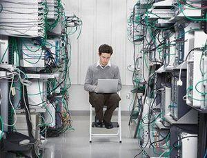 Системный администратор в офисе
