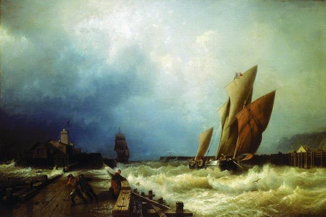 Морские профессии - Лоцман
