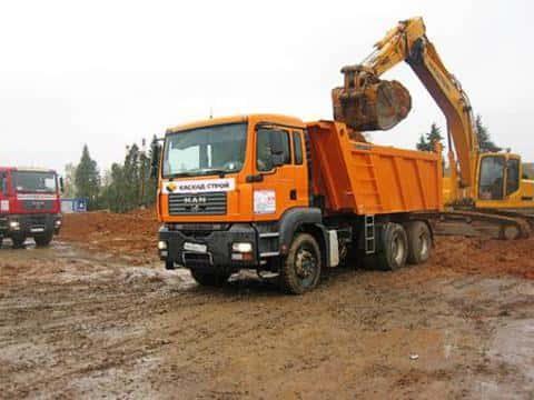 Проект строительства потребует от девелопера решение вопроса с вывозом и складирование грунта