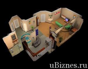 Красивый проект интерьера квартиры