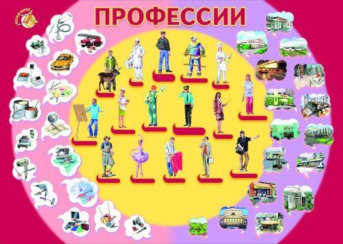 Профессии плакат2