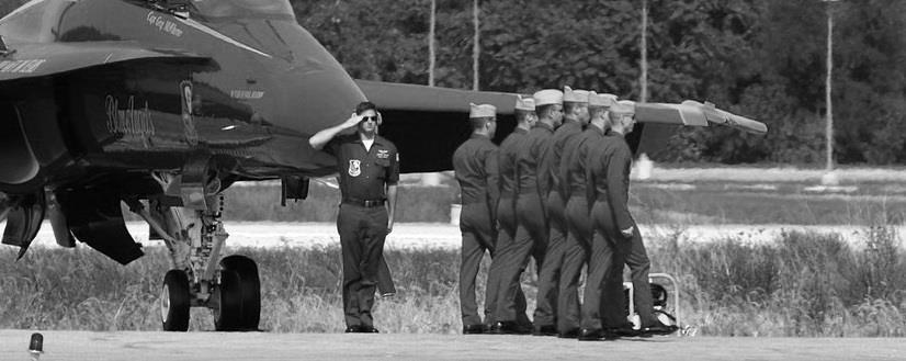 военных летчиков (пилотов).