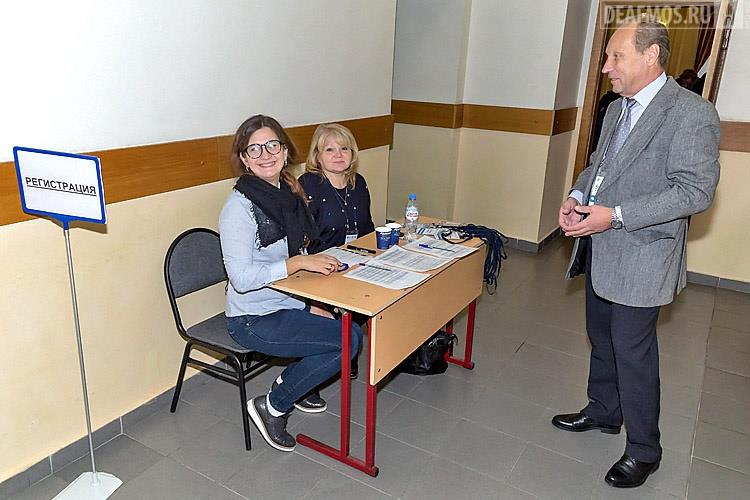 специалисты МГО ВОГ с радушием встречали участников семинара и показывали путь в конференц-зал университета.