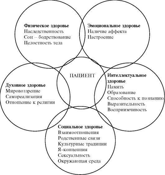 Холистический подход к здоровью на основе 5 основных аспектов