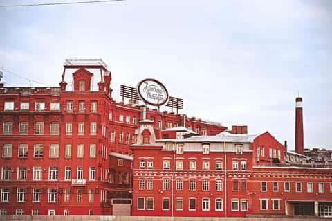 В Российской Федераци первый андеррайтинг ценных бумаг произошел на фабрике Красный Октябрь