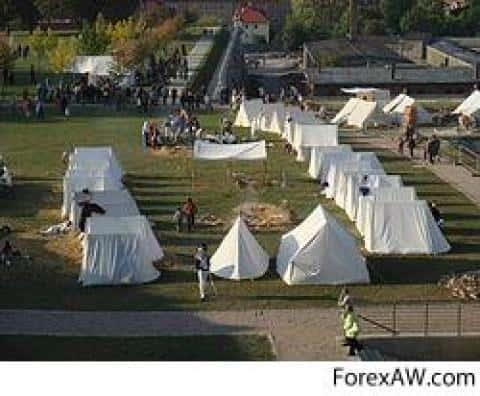Выбор месторасположения лагеря