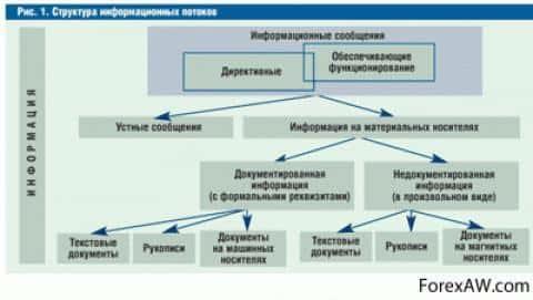 Структура информационного потока