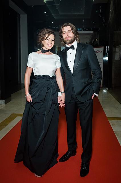 Анастасия Заворотнюк с мужем Петром Чернышовым