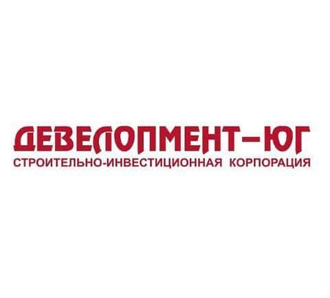 Фирменный логотип девелоперской компании Девелопмент-Юг