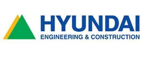 Фирменный логотип южнокорейской строительной компании Hyundai EngineeringandConstruction