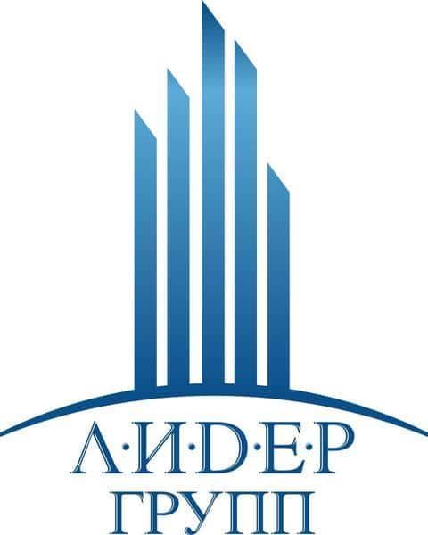Фирменный логотип группы девелоперских компаний ЛИДЕР ГРУПП