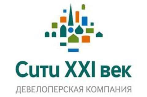 Фирменный логотип девелоперской компании Сити-XXI век