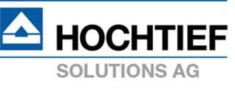 Фирменный логотип крупнейшей немецкой строительной компании Hochtief