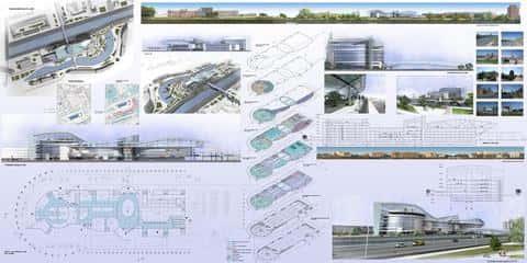 Торгово-развлекательные комплексы часто строятся не из одного, а из нескольких блоков