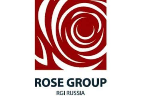 Фирменный логотип девелоперской компании Rose Group