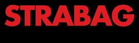 Фирменный логотип австрийской строительной компании Strabag SE