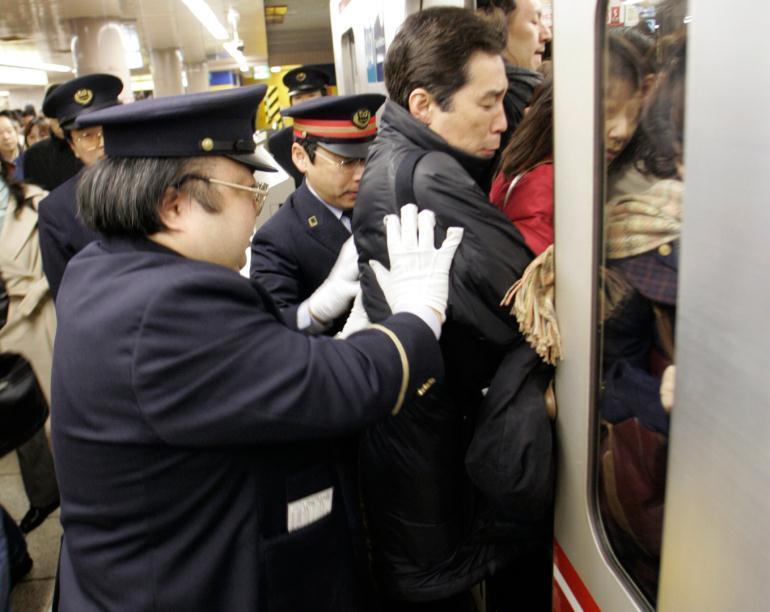Трамбовщик пассажиров