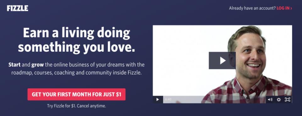 Cайт Fizzle