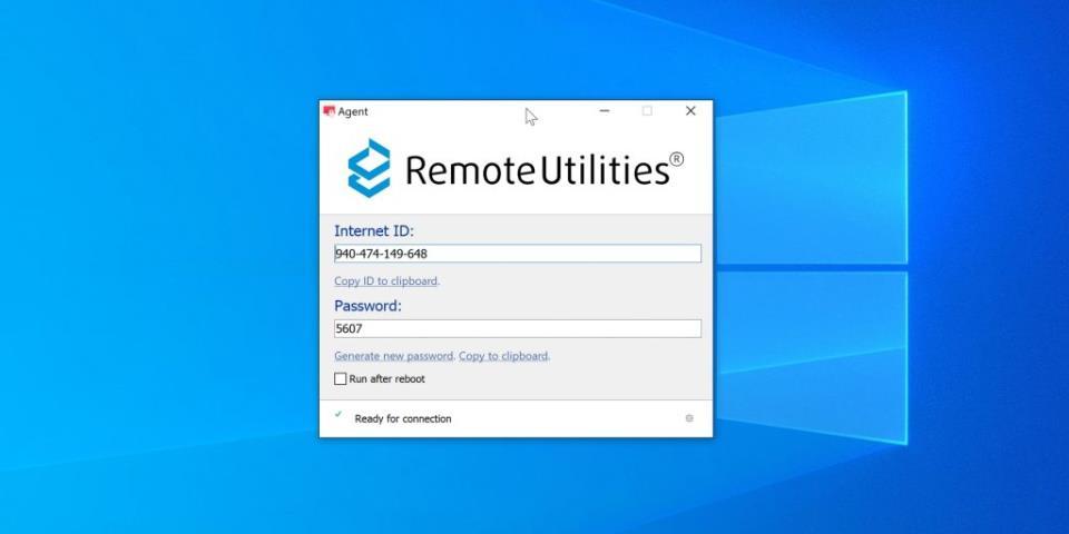 Программы для удалённого доступа к компьютеру: Remote Utilities