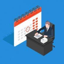 Как в табеле отметить нерабочие дни в период с 30 марта по 30 апреля