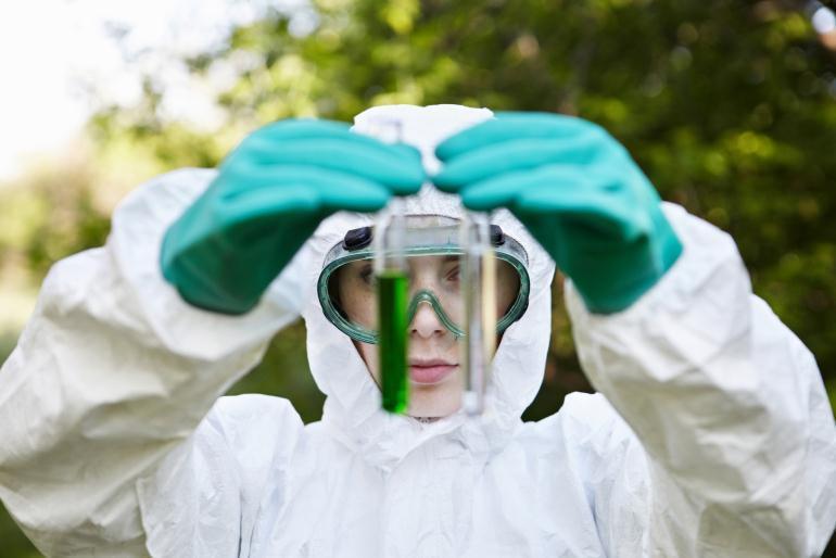 Эколог-лаборант