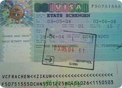 Шенгенская виза манекенщицы