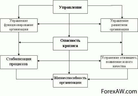 схема антикризисного управления