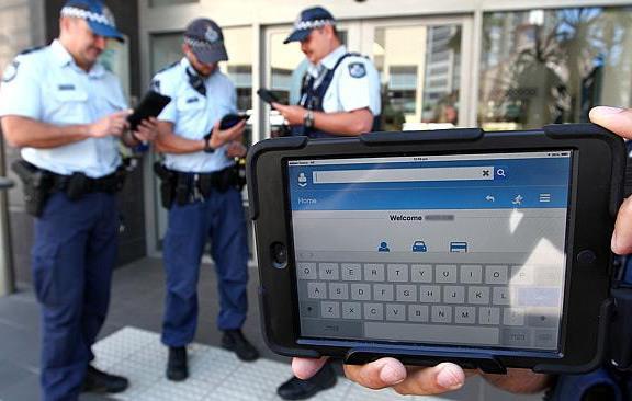 iPad police