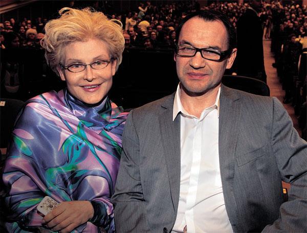 Елена Малышева и муж Игорь