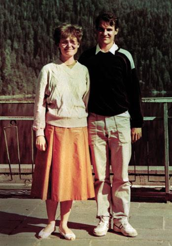 Елена Малышева и ее муж Игорь
