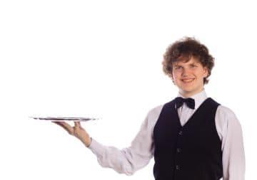 работа официантом