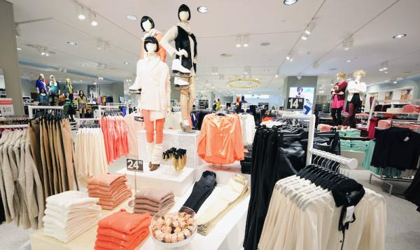H&M Opens At Time Warner Center Featuring Maison Martin Margiela Collection