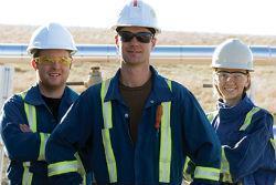 Сотрудник в нефтегазовой отрасли