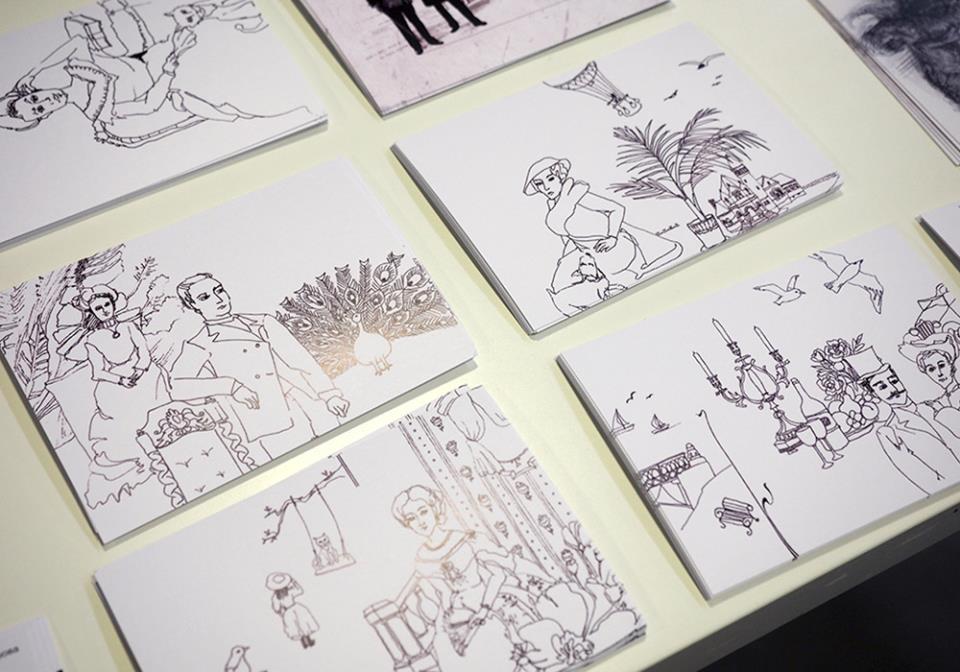 иллюстрация работы студентов