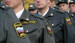 Средние зарплаты полицейских в России по званиям