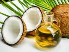 Кокосовое масло для волос, лица и тела